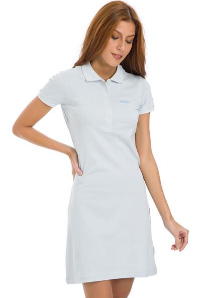 Galvanni Kadın Açık Mavi Elbise