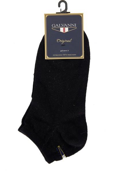 Galvanni Erkek Siyah Çorap