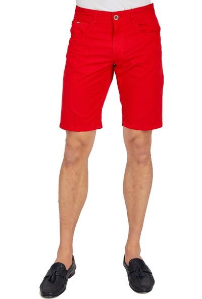 Galvanni Erkek Kırmızı Şort & Bermuda