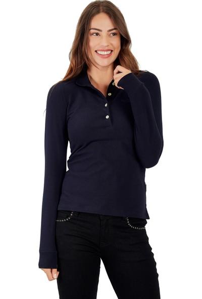 Galvanni Kadın Lacivert Sweatshirt