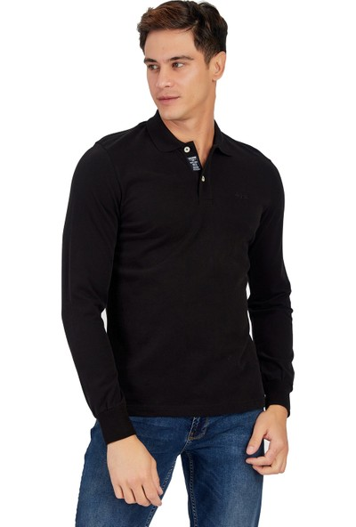 Galvanni Erkek Siyah Sweatshirt