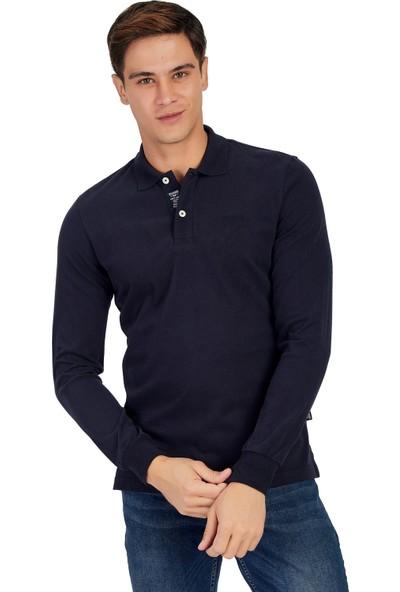 Galvanni Erkek Lacivert Sweatshirt