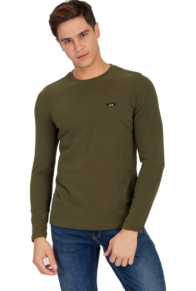 Galvanni Erkek Haki T-Shirt