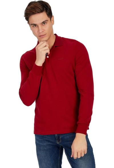 Galvanni Erkek Kırmızı Sweatshirt