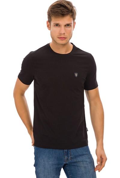 Galvanni Erkek Siyah T-Shirt
