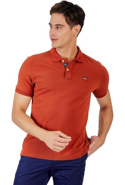 Galvanni Erkek Kiremit Polo Yaka T-Shirt