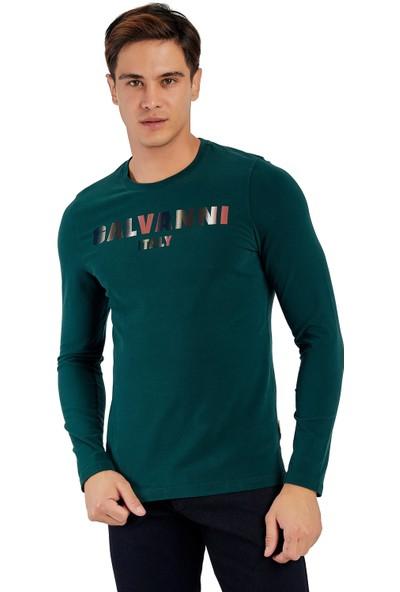 Galvanni Erkek Pembe T-Shirt