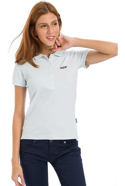 Galvanni Kadın Açık Mavi T-Shirt