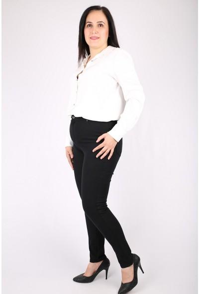 Günay Kadın Pantolon Rg1369 Kanvas Yüksek Bel Dar Paça