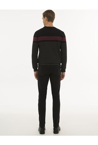 Pierre Cardin Erkek Siyah Slim Fit Denim Pantolon 50234207-VR046