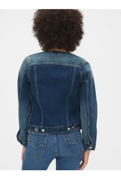 Gap Kadın Ikonik Denim Ceket