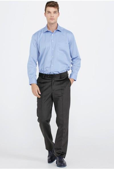 Sementa Erkek Klasik Kesim Kadife Pantolon - Vizon