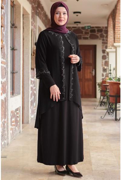 Fahima Efsun Abiye Siyah FHM628