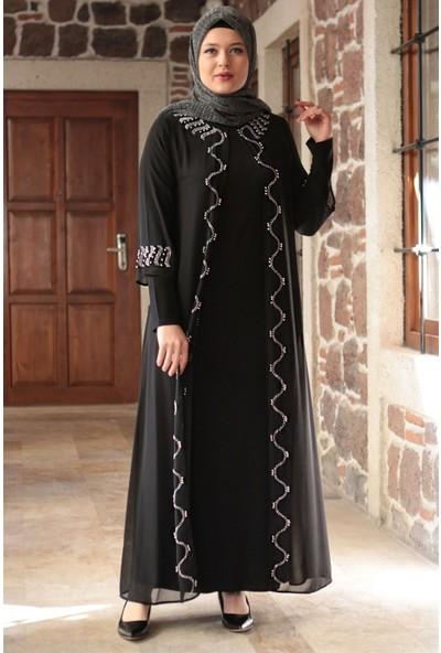 Fahima Sonay Abiye Siyah FHM707
