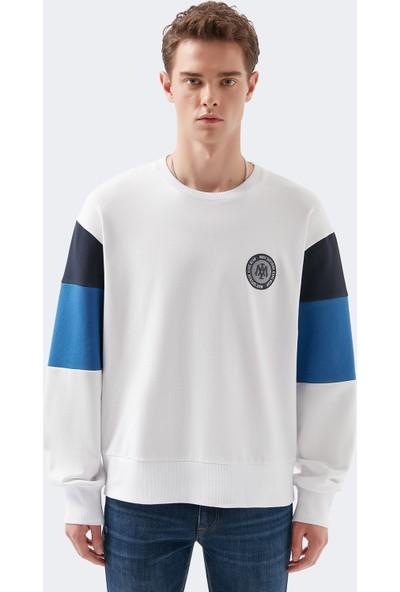 Mavi Erkek Blok Renkli Sweatshirt 066306-620
