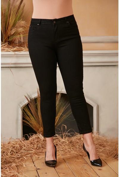 Brendon Kadın Büyük Beden Pantolon 1593 Siyah/black 20W34001593