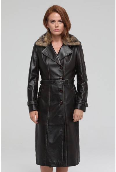 Derimod Brenda Kadın Deri Ceket