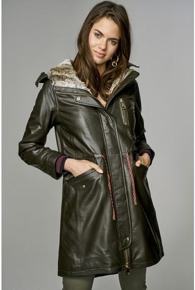 Derimod Valentina Kadın Deri Ceket