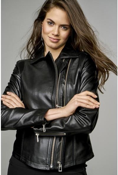 Derimod Stefania Kadın Deri Ceket
