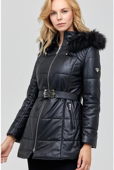 Derimod St.Moritz Kadın Deri Ceket