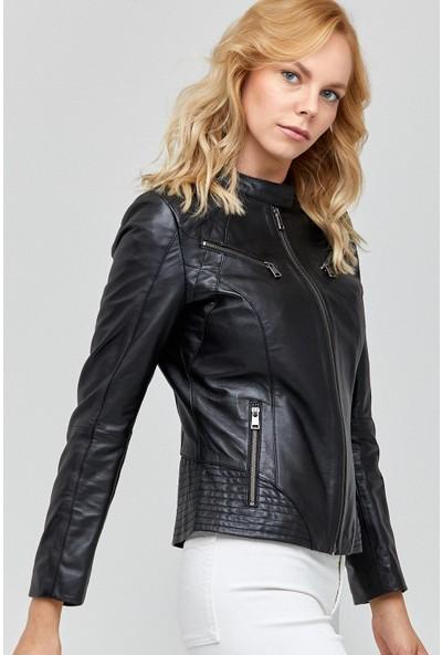 Derimod Lucky Kadın Deri Ceket