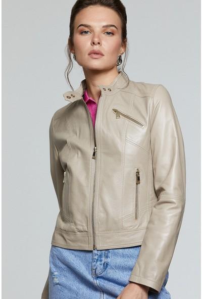 Derimod Kylie Kadın Deri Ceket