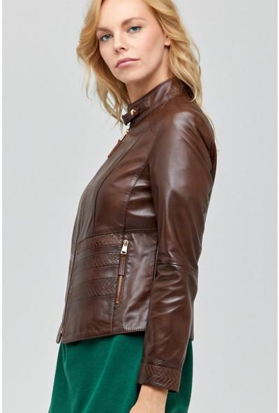 Derimod Daisy Kadın Deri Ceket