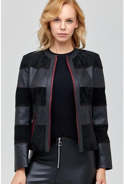 Derimod Florance Kadın Deri Ceket