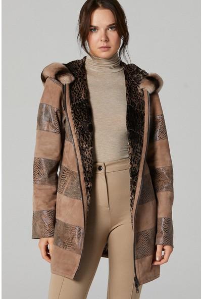 Derimod Dalia Kadın Deri Ceket