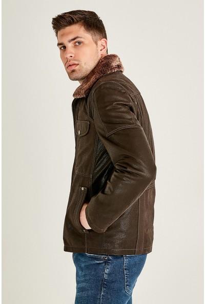 Derimod Angelo Erkek Deri Ceket
