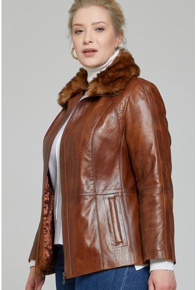 Derimod Samantha Kadın Deri Ceket