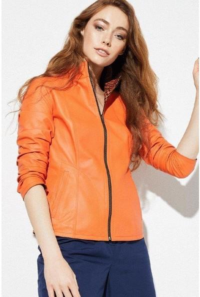 Derimod Mia Kadın Deri Ceket