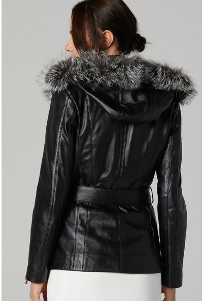Derimod Nikita Kadın Deri Ceket