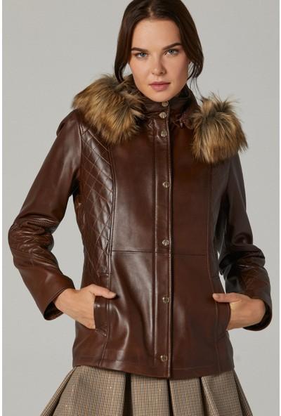 Derimod Caroline Kadın Deri Ceket