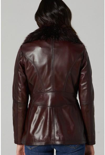 Derimod Gaby Kadın Deri Ceket