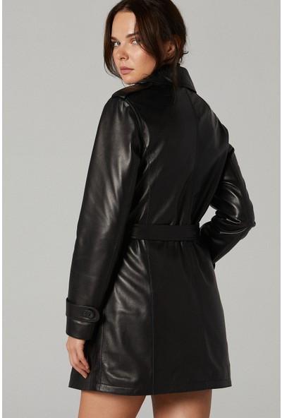 Derimod Edwina Kadın Deri Ceket