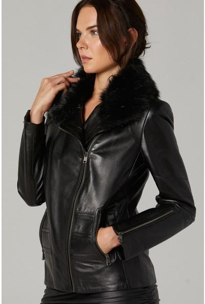 Derimod Marianna Kadın Deri Ceket
