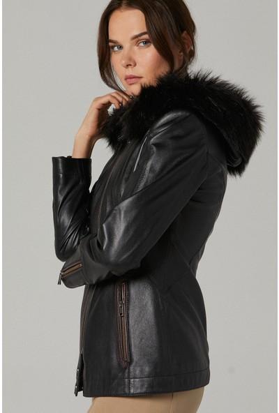 Derimod Laura Kadın Deri Ceket