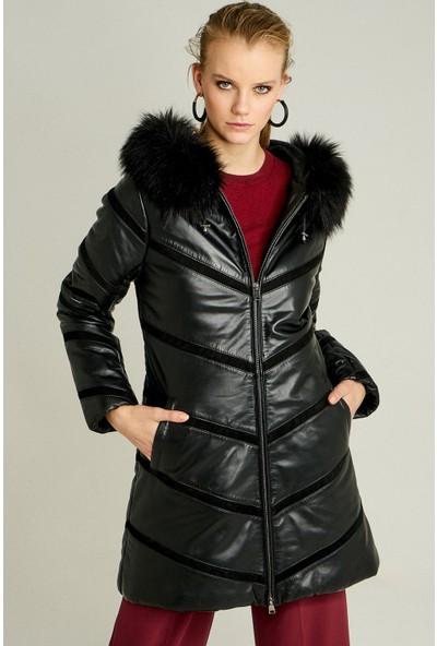 Derimod Ilyada Kadın Deri Ceket