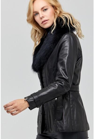 Derimod Sanremo Kadın Deri Ceket