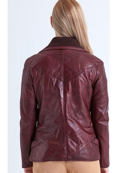 Derimod Tara Kadın Deri Ceket