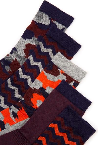 U.S. Polo Assn. Erkek Çocuk Lacivert Çorap 50228613-VR033