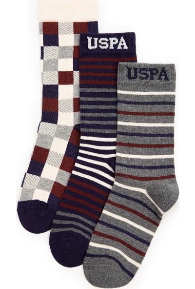 U.S. Polo Assn. Erkek Çocuk Lacivert Çorap 50228617-VR033