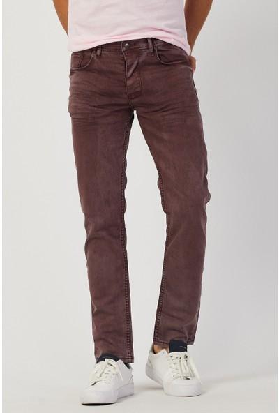 Serseri Jeans Slim Fit Erkek Açık Kahverengi Klasik Pantolon