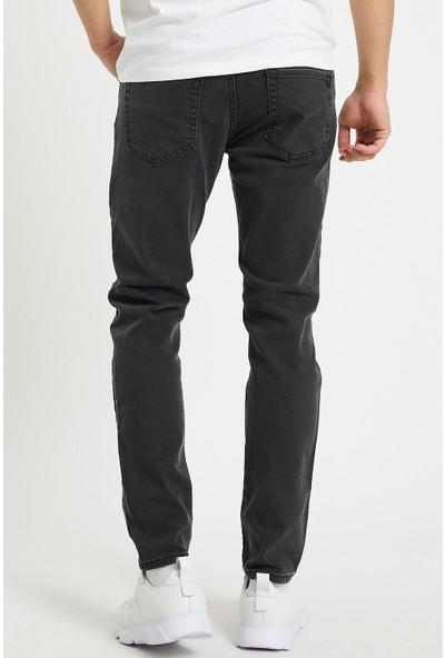 Serseri Jeans Slim Fit Erkek Füme Renk Klasik Pantolon