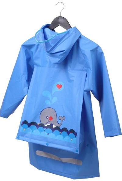Dreamtify Çocuk Yağmurluk Mavi