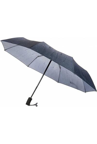 Marlux Otomatik Damla Desenli Kadın Şemsiye