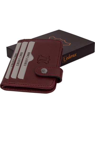 Lederax LD17 Suni Deri Kartlık Cüzdan