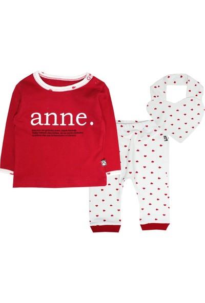 Babycool Kalpli Pijama Takımı-Anne