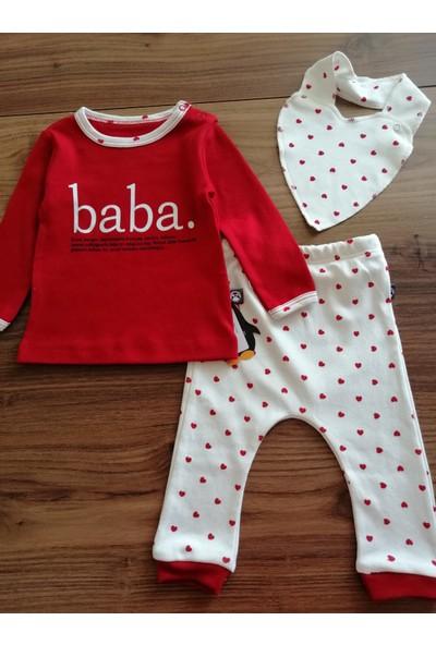 Babycool Kalpli Pijama Takımı-Baba